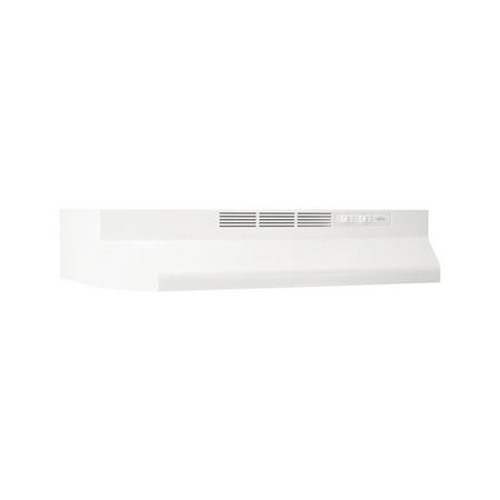 Broan 30W in. Ventless Under Cabinet Range Hood, White