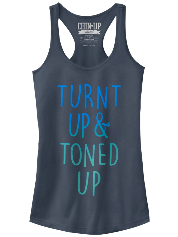 Fifth Sun Chin Up Turnt Juniors Racerback Tank