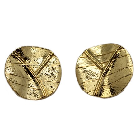 Golden Metal Leaf Clip On