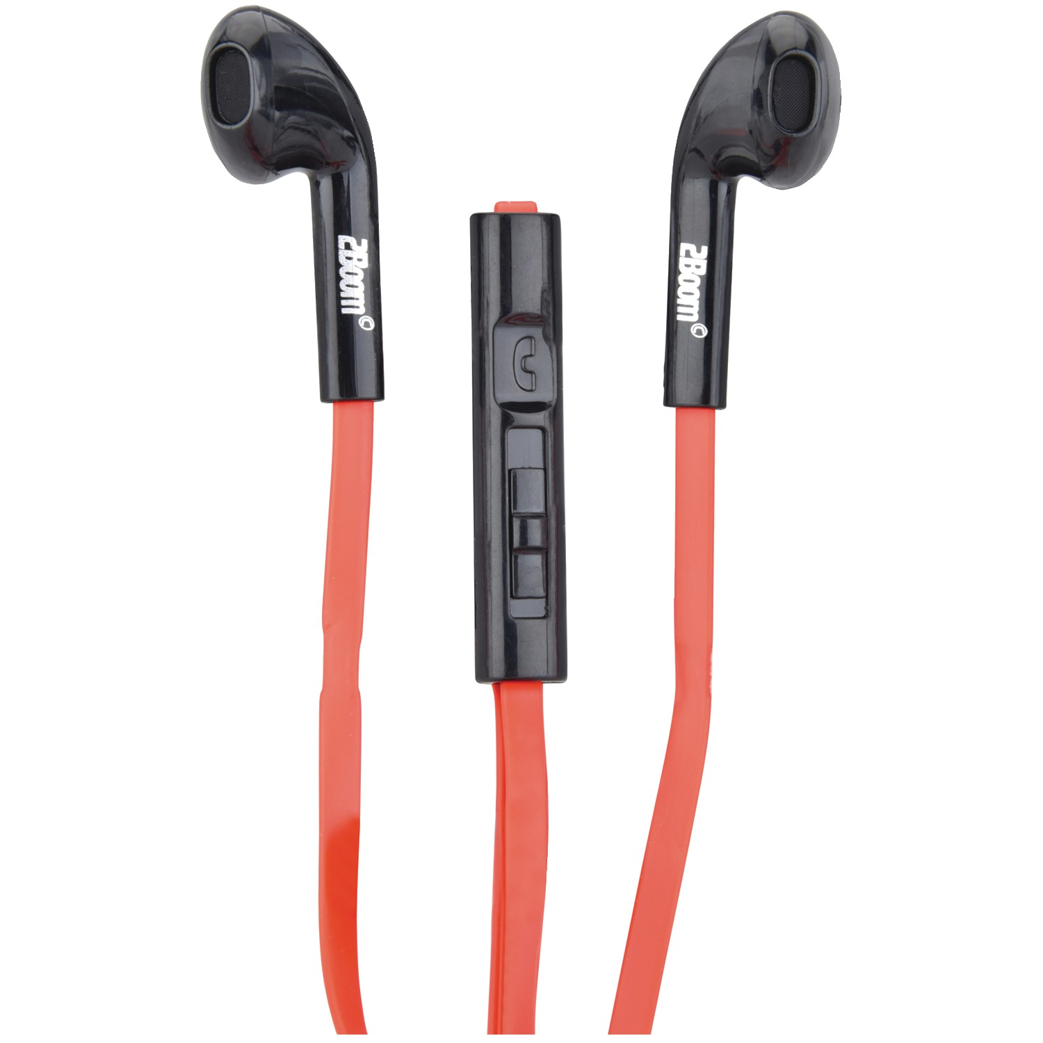 Image of 2boom Ep660mvr Ep660m Boom Budz In-ear Headphones (red)
