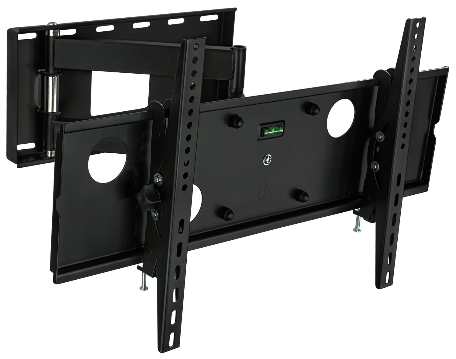 mount it universal articulating full motion tv wall mount. Black Bedroom Furniture Sets. Home Design Ideas