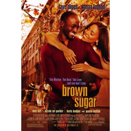 Brown Sugar Poster Movie 27x40 Taye Diggs Sanaa Lathan Mos Def, Approx. Size: 27 x 40 Inches - 69cm x 102cm By Pop Culture -