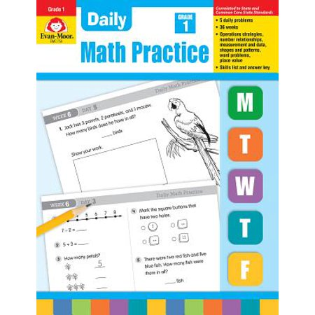 Daily Common Core Math Practice, Grade 1 (Daily Math Practice Grade 1)