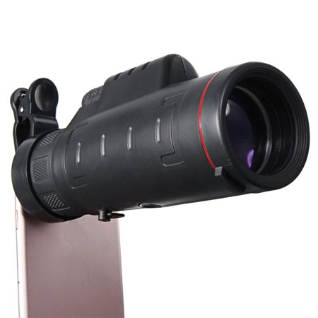35X50 Optical Zoom Cellphone Clip-on Monocular Telescope Camera Lens For Telephone Photography Smart Mobile