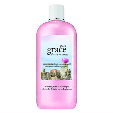 Philosophy Pure Grace Desert Summer Shampoo Bath  Shower Gel 16oz  480ml