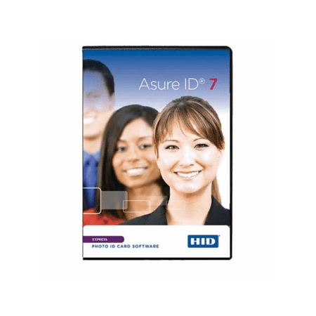 Id Badge Software - Fargo HID 86412 Asure ID Express Stand Alone Card Personalization Software