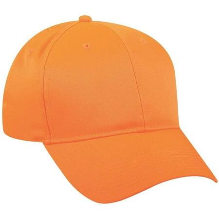 Outdoor Cap 6-Panel Youth Cap Blaze Orange ()