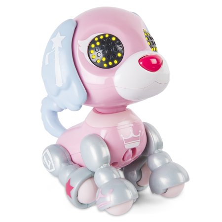Zoomer Zupps Royal Pups, Monarch Spaniel, Litter 4 - Interactive Puppy with Lights, Sounds and -