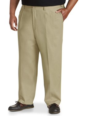 Canyon Ridge Big Men's Pleated Stretch Pant