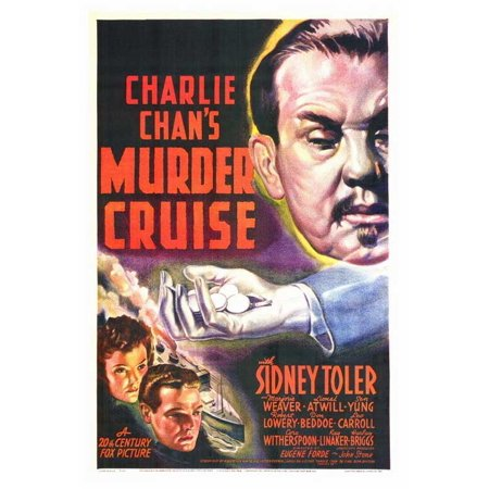 Charlie Chan's Murder Cruise POSTER Movie (27x40)