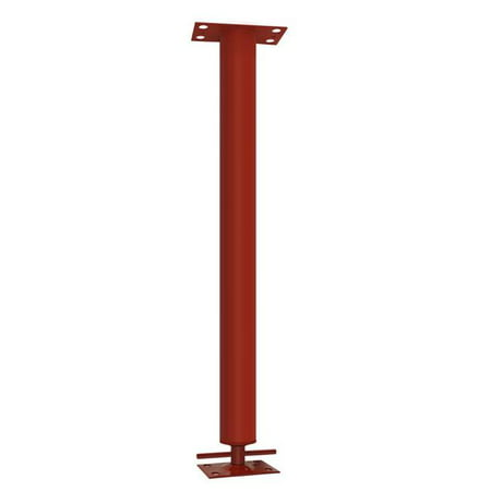 Tiger Jack Post 5007295 3 in. Dia. x 2 ft. Adjustable Building Support Column - 24700 lbs 10000 Lbs Capacity Two Post