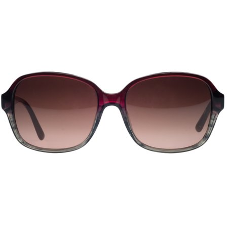 7a5f3bc8ab7 Lacoste - Lacoste L735 S 615 Red  Brown Gradient Square Sunglasses -  Walmart.com
