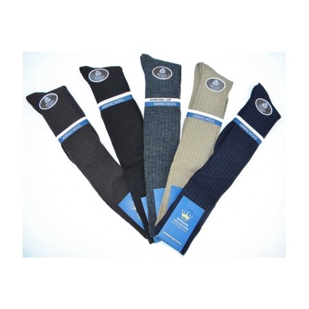 - Windsor Men's Merino Wool Over the Calf Dress Socks