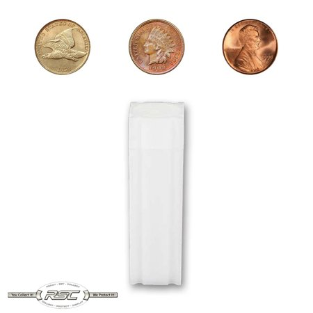 1 - CoinSafe Tube for Cent / Penny - Holds 50 Coins! 2009 Lincoln Coin
