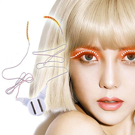 LED Eyelashes Waterproof Light Shinning LED Lashes for Party Bar NightClub Concerts Birthday Gifts Christmas