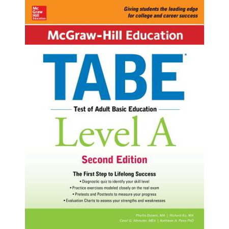 McGraw-Hill Education Tabe Level A, Second