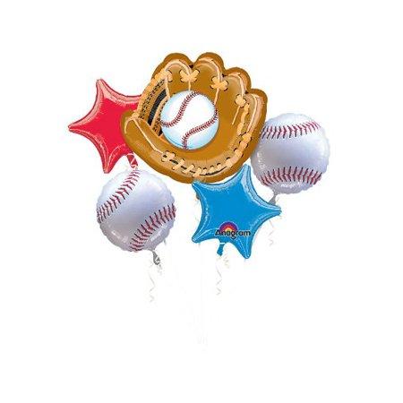 Baseball Balloon Bouquet - Party Supplies