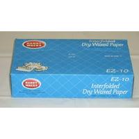 Handy Wacks EZ12P, 12x10-3/4-Inch Interfolded Medium Grade Dry Waxed Paper, 500-Piece Pack