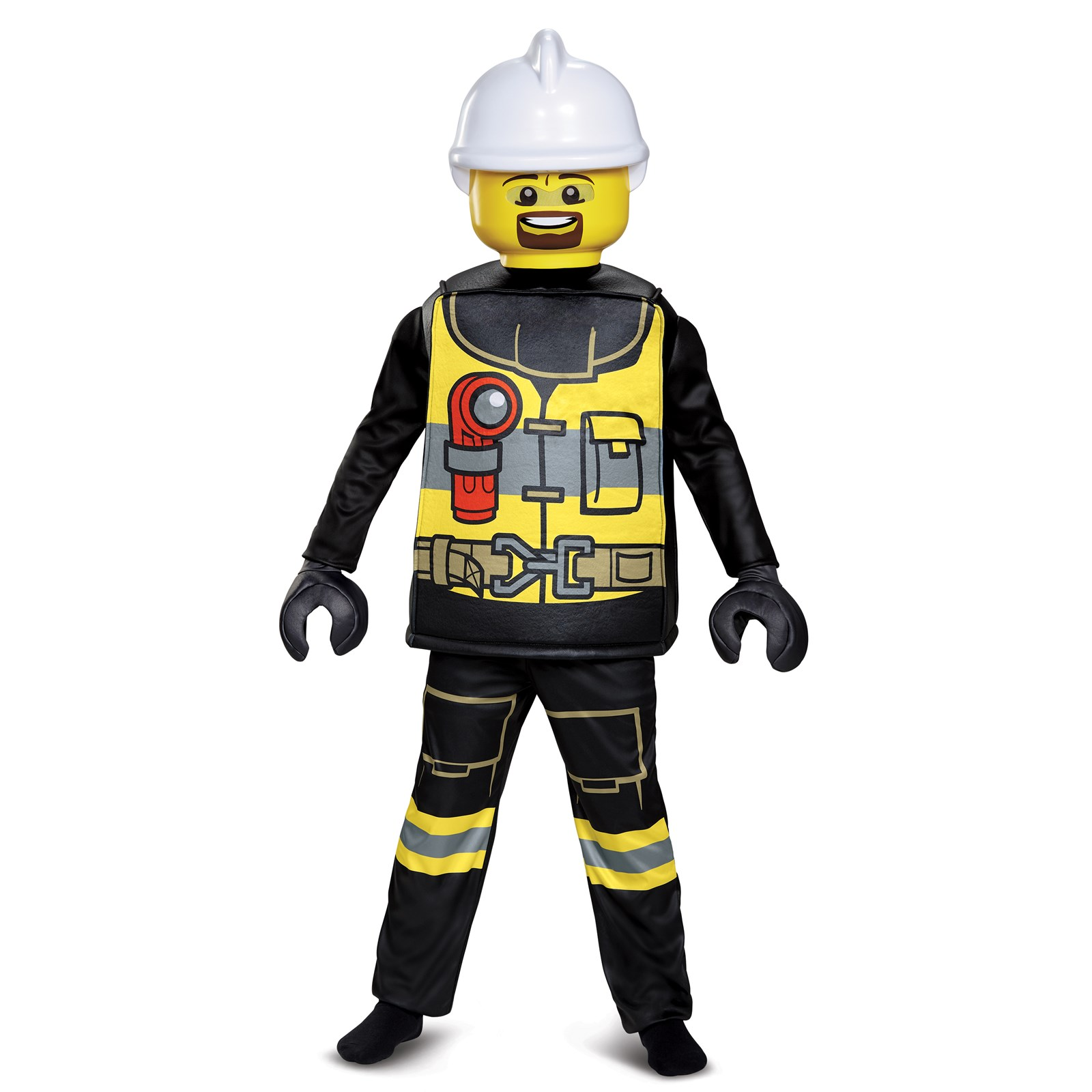 Boys Firefighter Deluxe Costume by Disguise