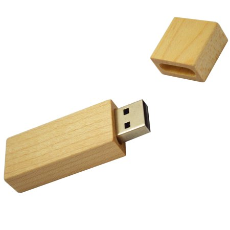 Wooden USB 16G Flash Disk for Windows 98 / ME / 2000 / XP