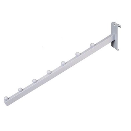Waterfall Square Tube - GPW-7B 7-Ball Square Tube Waterfall for Gridwall, White