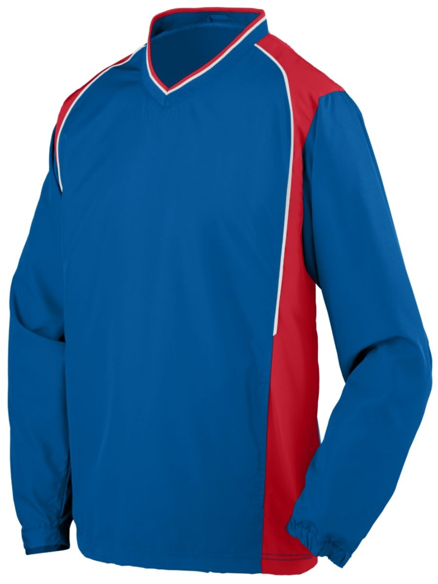 Augusta ROAR PULLOVER RO/Rd/WH M