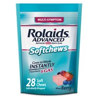 Rolaids Advanced Multi-Symptom Softchews (28 Ct, Mixed Berry)