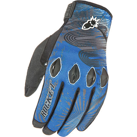 Joe Rocket Rocket Nation 2.0 Gloves Blue/Black