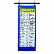 School Smart Classroom Schedule Pocket Chart