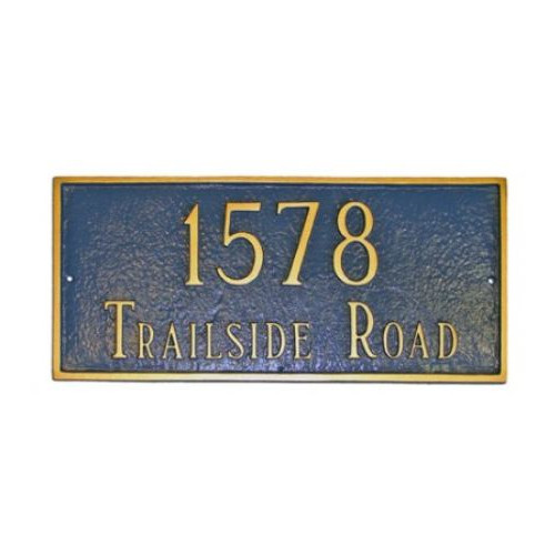 Montague Metal Products Inc. Rectangular Address Plaque