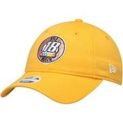 Kyle Busch New Era Women's 9TWENTY Sparkle Adjustable Hat - Gold - OSFA