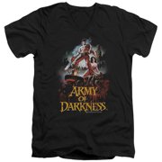 Mgm Army Of Darkness Bloody Poster Mens V-Neck Shirt