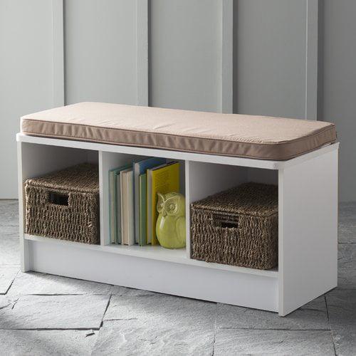 ClosetMaid 3-Cube Bench, Multiple Finishes