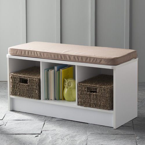 Ordinaire ClosetMaid 3 Cube Bench, Multiple Finishes
