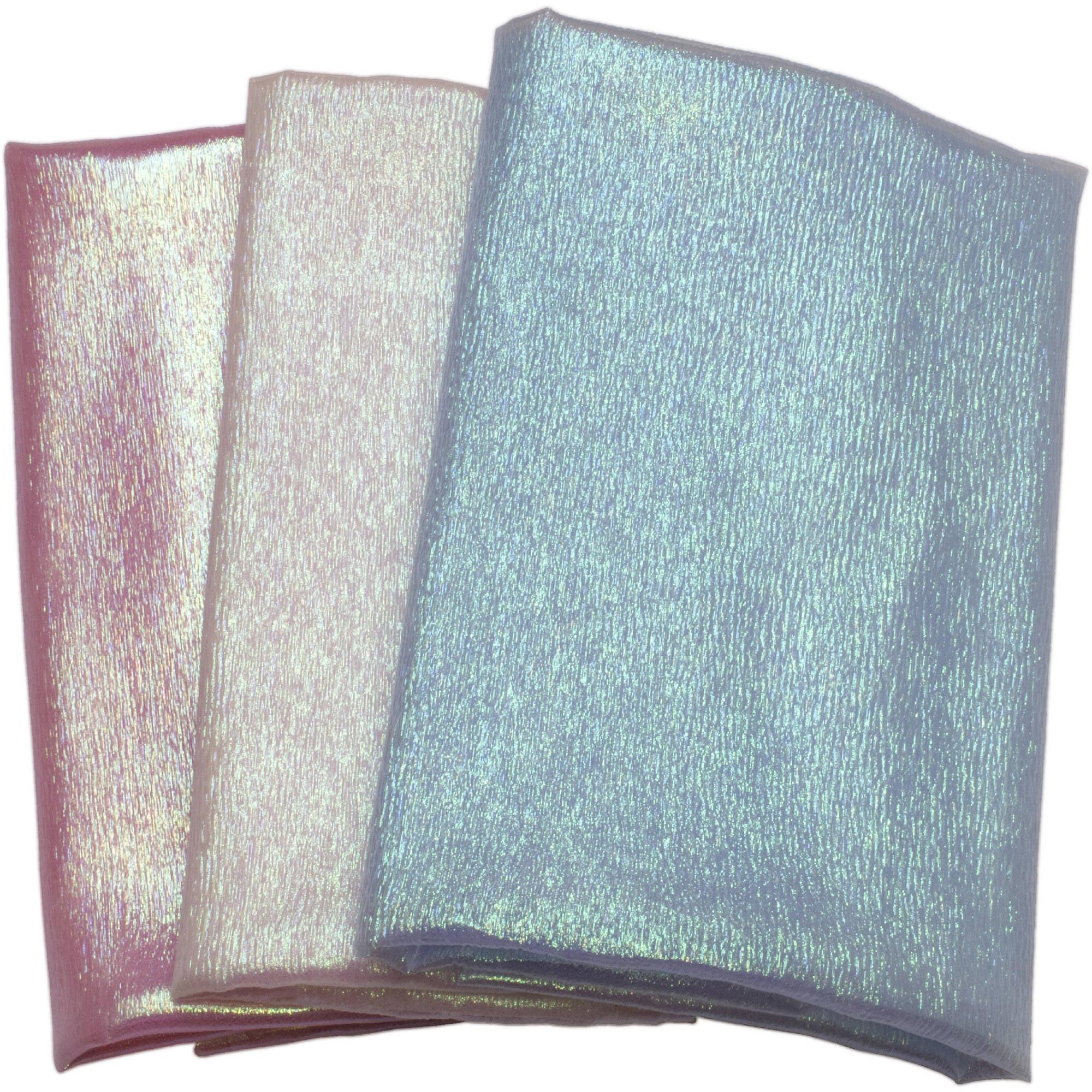 "David Textiles Iridescent Organza Fabric by the Yard, 44""W"