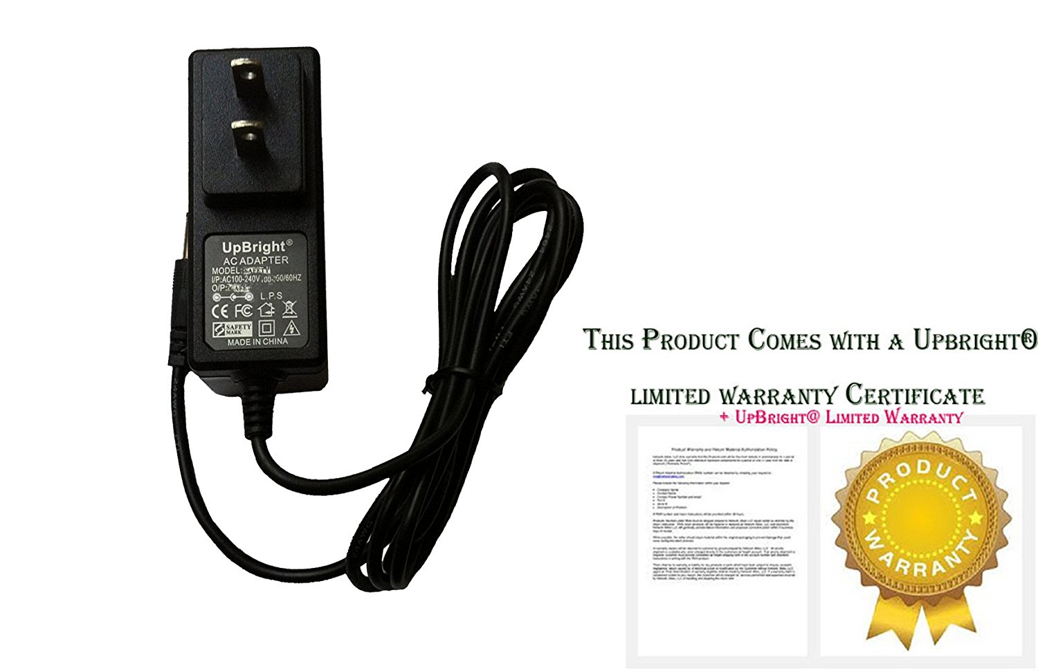 with 10V DC Output, NOT 9V AC Output. Thanks. Accessory USA AC-DC Adapter for RCA ViSys 25423RE1-A 25424RE1-A 25423RE-1 Thomson 4-Line Phone Telephone Power Supply Cord Cable Charger Mains PSU