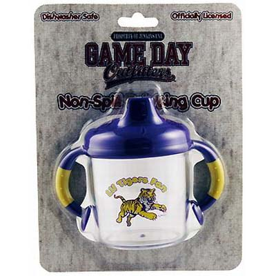 Lil Louisiana State Tigers Fan No Spill Sippy Cup