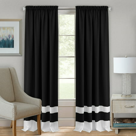 Achim Darcy Rod Pocket Window Curtain