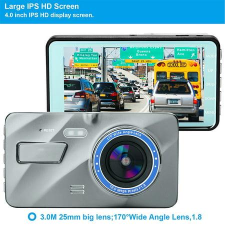 "4"" Vehicle 1080P Car Dashboard DVR Camera Video Recorder G-Sensor Dash Cam - image 7 de 8"
