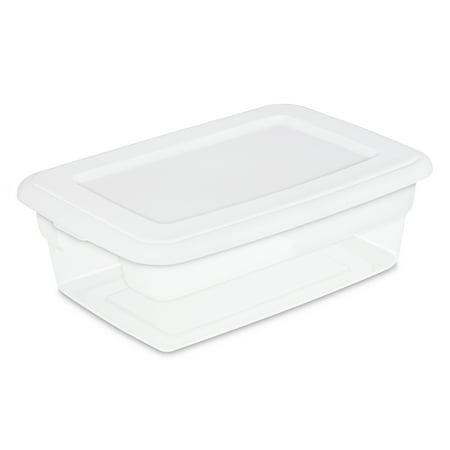 Sterilite 12 Qt./11.4 L Storage Box, White