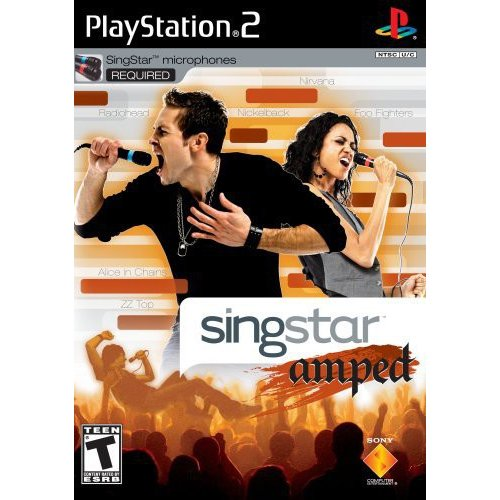 SingStar Amped (Stand Alone) - PlayStation 2