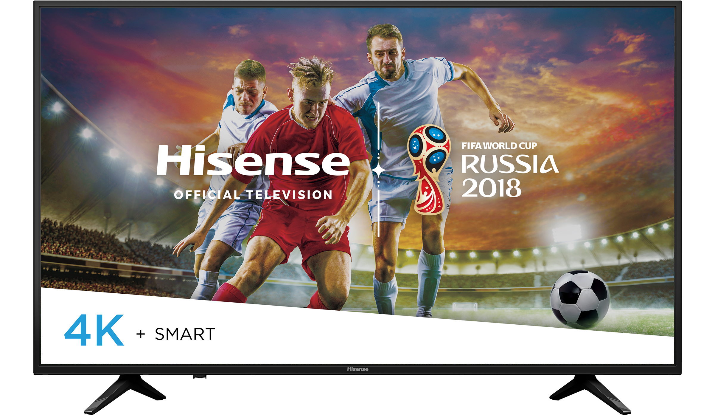 """Hisense 60"""" Class (59.5"""" diag.) UHD (2160P) Smart DLED TV (60H6E)"""