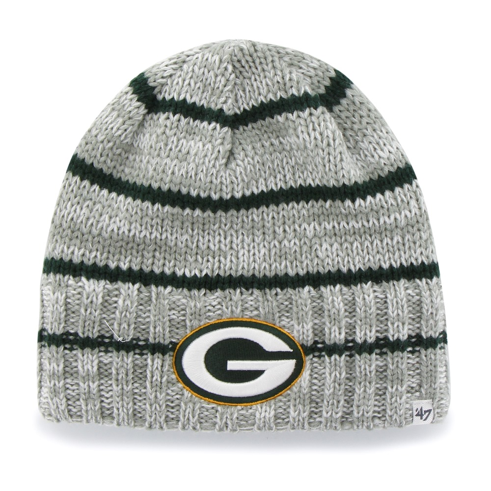 Green Bay Packers Gray McMahon Beanie