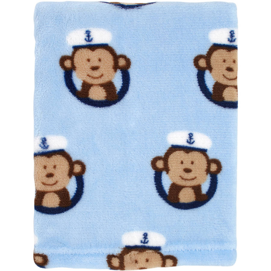 Garanimals Printed Blanket, Monkey