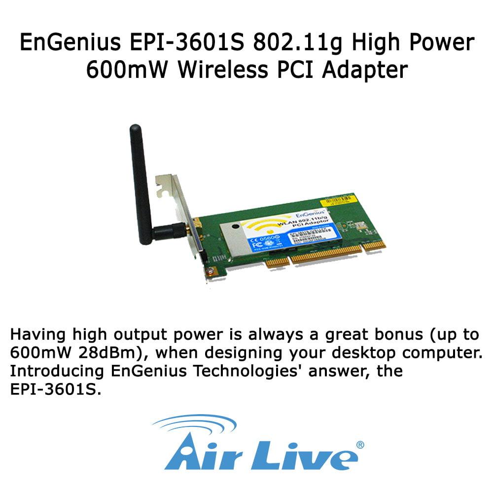 ENGENIUS EPI-3601S DRIVERS DOWNLOAD FREE