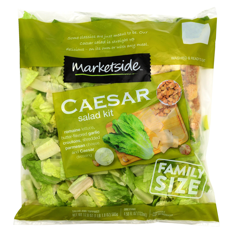 Marketside Caesar Salad Complete Kit, 22.25 oz