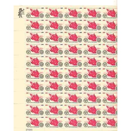 Battle of New Orleans Sheet of 50 x 5 Cent US Postage Stamps Scott 1261 By USPS Ship from US