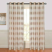 Lavish Home Sofia Grommet Curtain Panel
