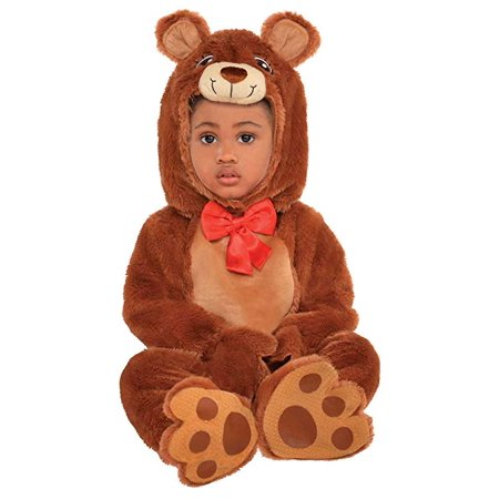 Amscan Baby Bear Costume (NWBN) - Toddler Bear Costume