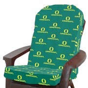 College Covers NCAA Oregon Indoor/Outdoor Adirondack Chair Cushion